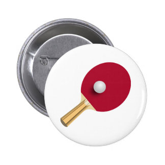 For Ping Pong Lovers! 6 Cm Round Badge