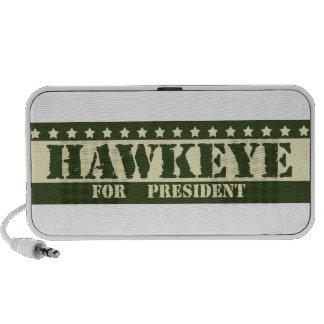For President Hawkeye Travelling Speakers
