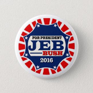 For President Jeb Bush 2016 6 Cm Round Badge