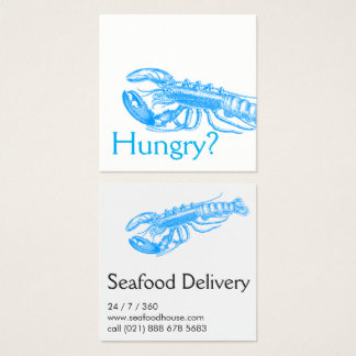For restaurants square business card