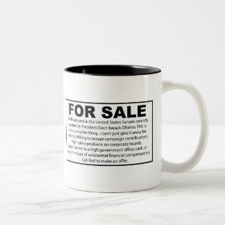 For Sale - Barack Obama's US Senate Seat Coffee Mug
