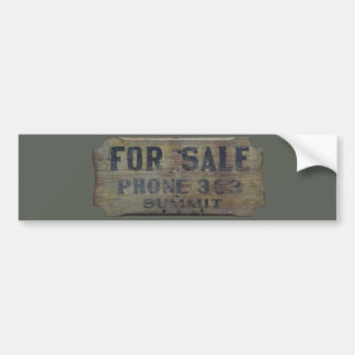 for sale bumper sticker