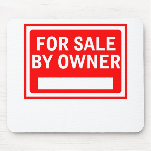 For Sale By Owner Mouse Pad
