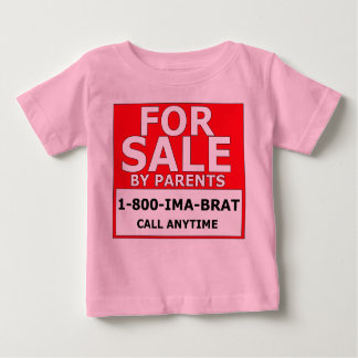 For Sale By Parents Baby T-Shirt
