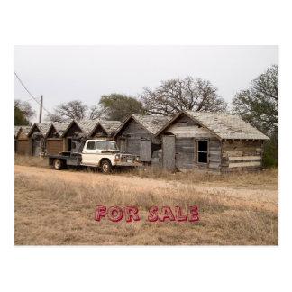 For Sale Postcard