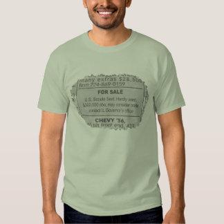 For Sale Senate Seat Tshirt