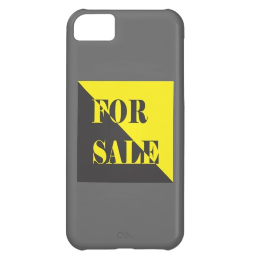 for sale sign iPhone 5C covers