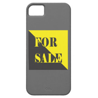 for sale sign iPhone 5 covers