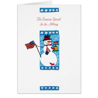 For Someone Special In The Military Greeting Card