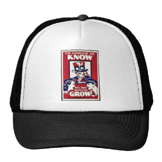 For Someone We Know, We'll Make Production Grow Mesh Hat