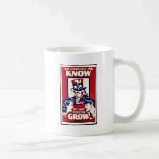 For Someone We Know, We'll Make Production Grow Mugs