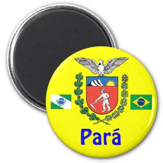 For State, Brazil Shirt Magnet