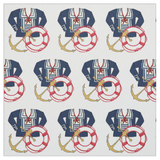 For Summer Sailors and Wannabees Fabric