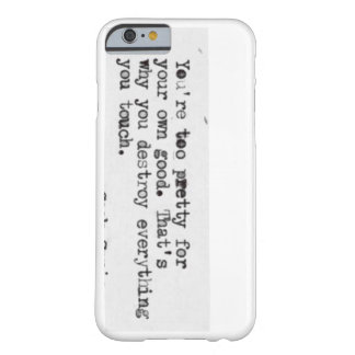 For sweet barely there iPhone 6 case