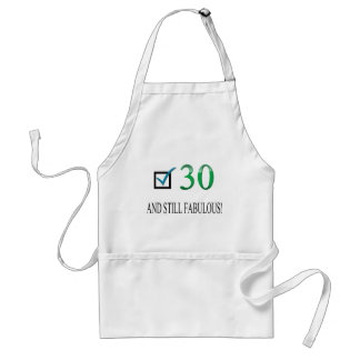 For the 30th Birthday Apron