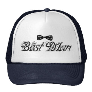 For the Best Man Cap
