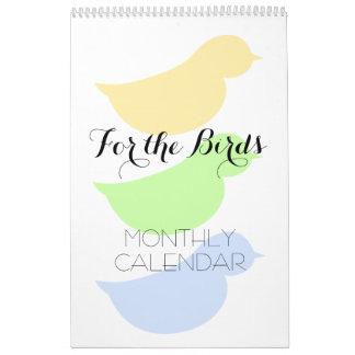 For the Birds Wall Calendars