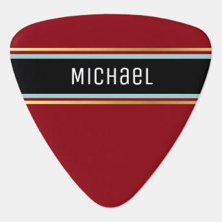 for the classy guitarist / monogram plectrum