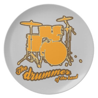 For the drummer plate
