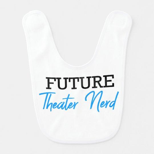 For the Future Theatre Nerd Blue Bib