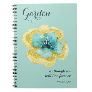 For the Garden Lover! Notebook