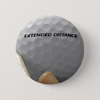 For the Golf Lover 6 Cm Round Badge