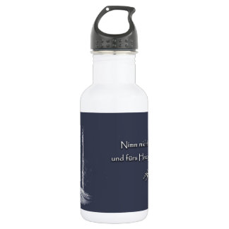 For the heart 532 ml water bottle