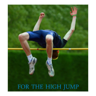 for the high jump poster