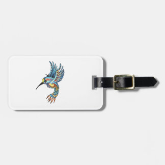 FOR THE HUMMINGBIRD LUGGAGE TAG