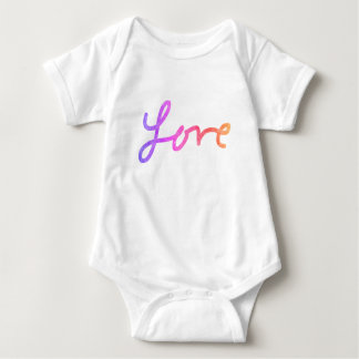 For the Love - Baby Jumpsuit Ombre Love