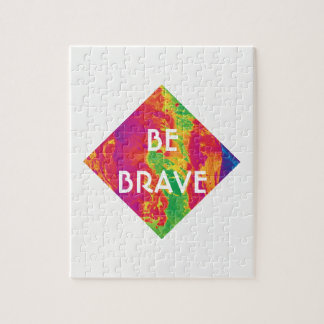 For the Love - BE BRAVE Puzzle