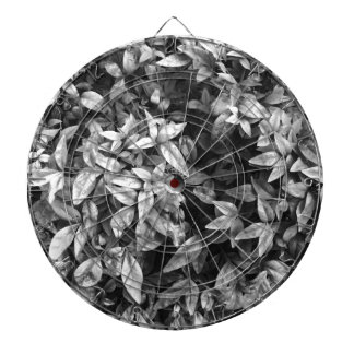 For the Love - Black & White Floral Dartboards