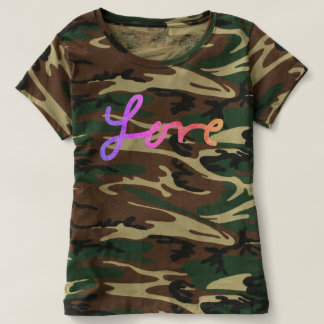 For the Love - Love Camo Shirt