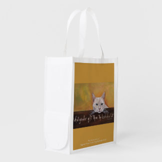 For the Love of a Cat Reusable Grocery Bag