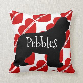 For the Love of a Newfoundland Dog Cushion