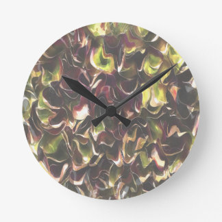 For The Love Of Autumn Round Clock