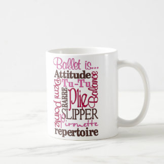 For the Love of Ballet Mug