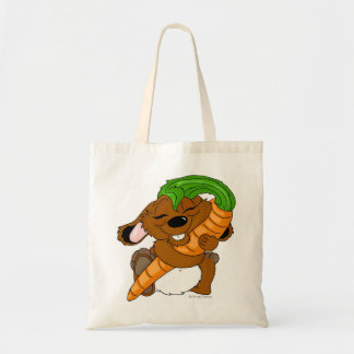 """""""For the Love of Carrot"""" Tote Budget Tote Bag"""