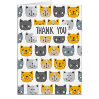 For the Love of Cats Card