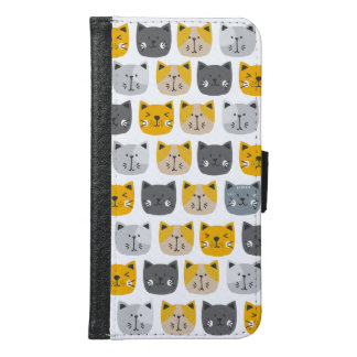 For the Love of Cats Samsung Galaxy S6 Wallet Case