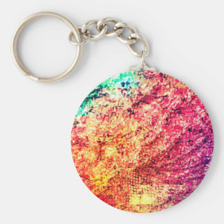 For the Love of Colour - Kaleidoscope Key Ring
