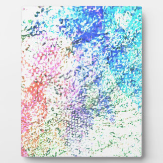For the Love of Colour - Kaleidoscope Pastel Plaque