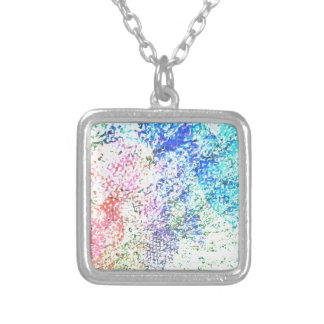For the Love of Colour - Kaleidoscope Pastel Silver Plated Necklace