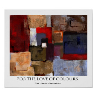 For the Love of Colours Poster