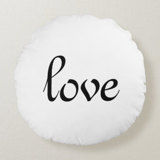 For the Love of Decor - Love Round Cushion