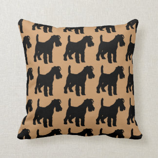 For the Love of Fox Terriers Cushion