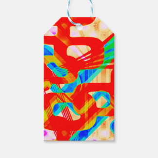 For the Love of Geo - Fleuro Geo Gift Tags