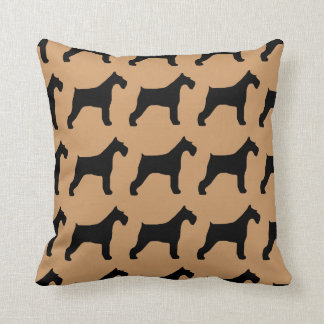 For the Love of Giant Schnauzers Cushion