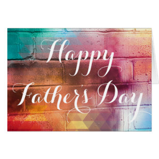 For The Love of Giving - Happy Father's Day Card