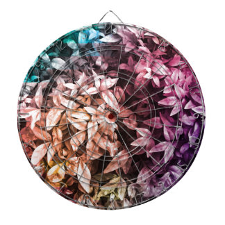 For the Love of Giving - Multi Floral Dartboard